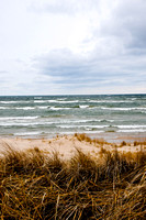 Lake Michigan in the Fall, Muskegon, MI