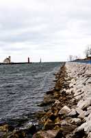 In the Distance, Muskegon Lighthouse @ the Channel, Muskegon, MI